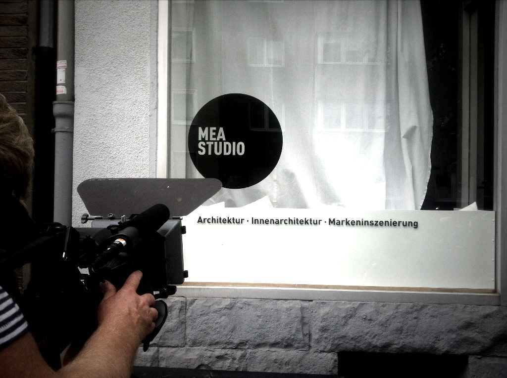 Mea goes film footage f r den neuen imagefilm mea studio for Innenarchitektur vortrag